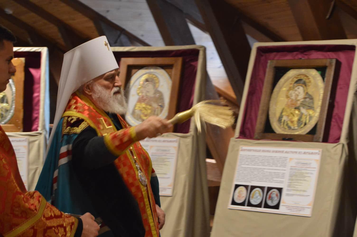 Влахернская Божия Матерь из мрамора, Метрополит Павел, фото 1