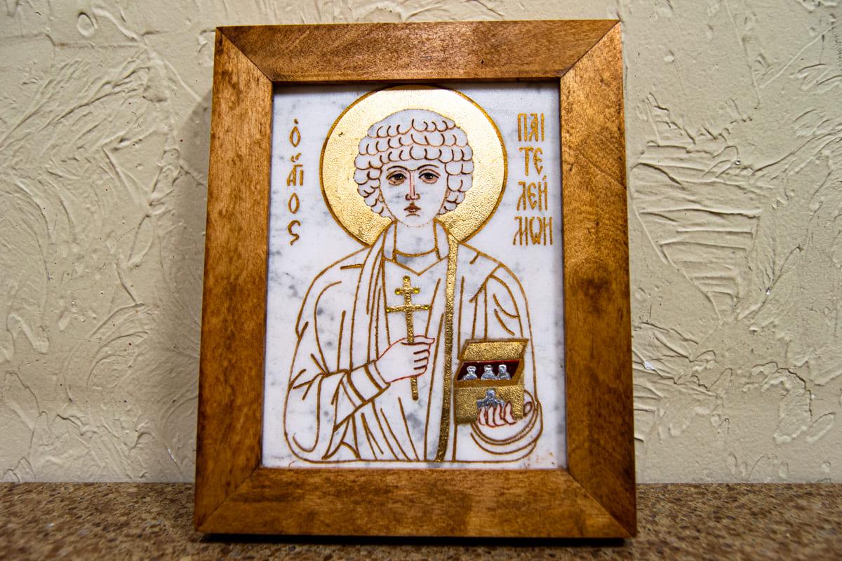 Икона Святого Великомученика Пантелеймона для врача. Минск