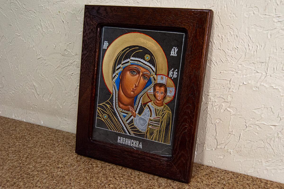 Семейная икона, венчальная пара, изображение к статье, фото 4