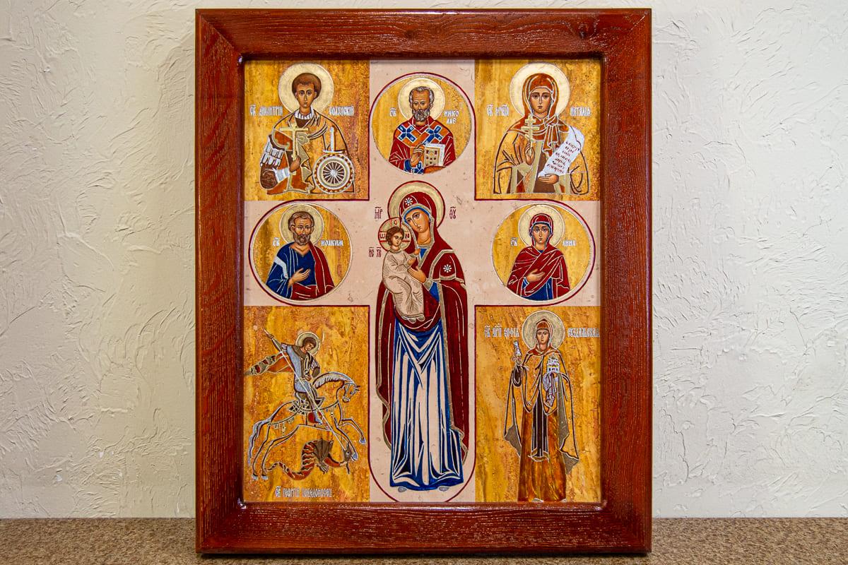 Семейная икона, святые покровители, изображение к статье, фото 1
