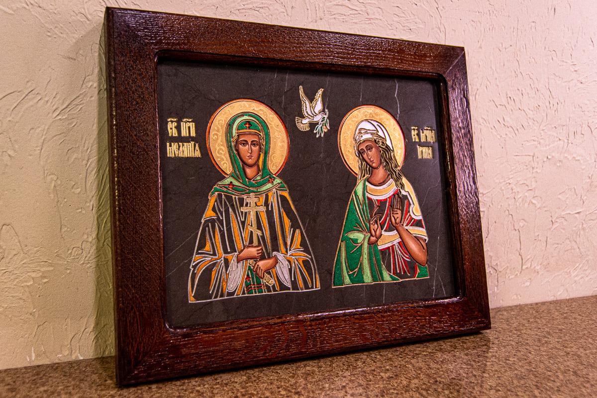 Семейная икона, святые малания и ирина, изображение к статье, фото 6