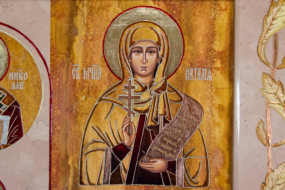 Семейная икона, Святая Наталья Никомидийская, изображение к статье, фото 14