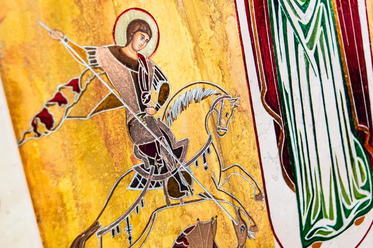 Семейная икона, Святой Георгий Победоносец, изображение к статье, фото 16